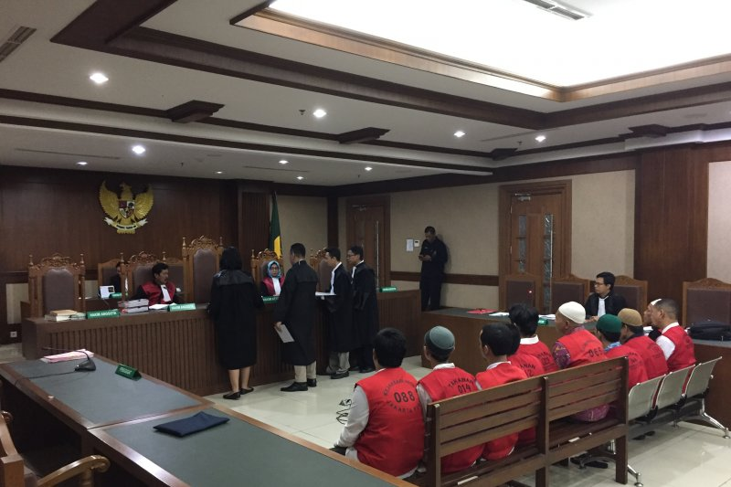 PN Jakpus sidangkan 74 terdakwa kasus kericuhan  21-22 Mei 2019