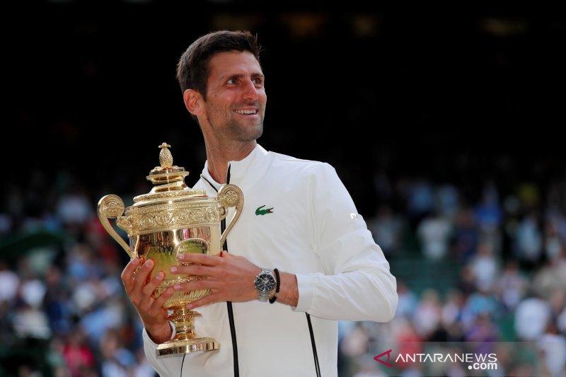 Djokovic dan Osaka jadi unggulan di US Open