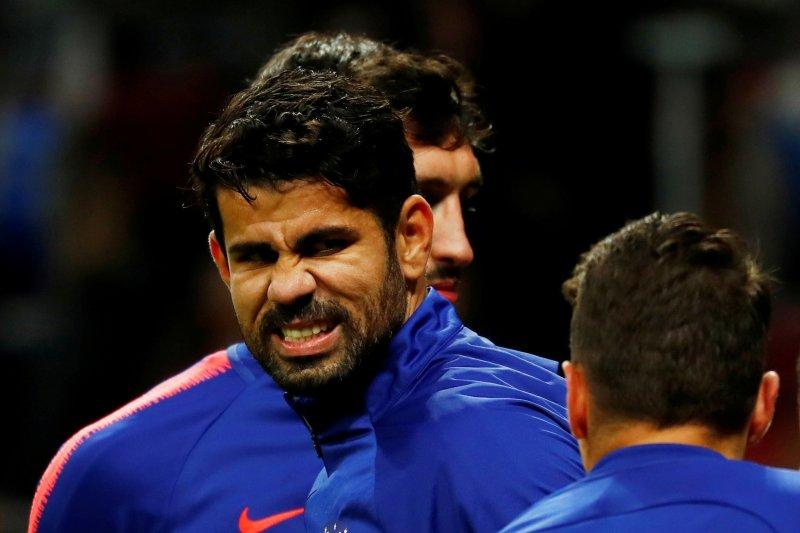 Diego Costa alami cedera paha