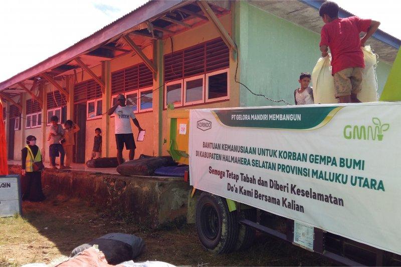 Dukung pemulihan gempa Halmahera, Korindo Group berikan bantuan