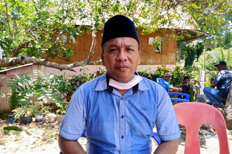 Almarhum  Briptu Hedar jadi tulang punggung keluarga