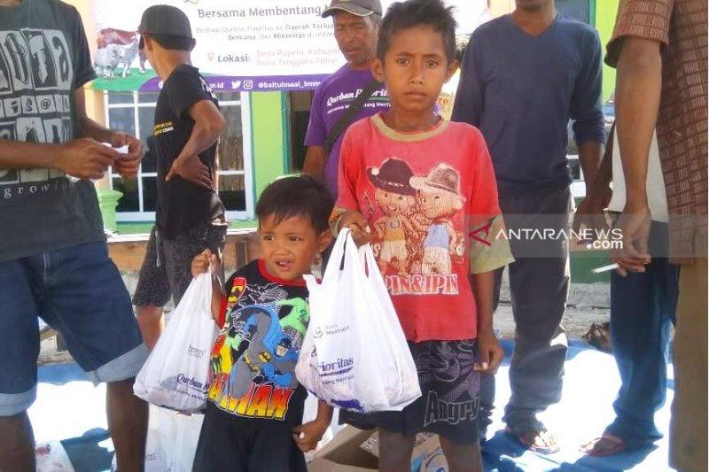 Laznas Baitulmaal Muamalat distribusikan kurban ke NTT