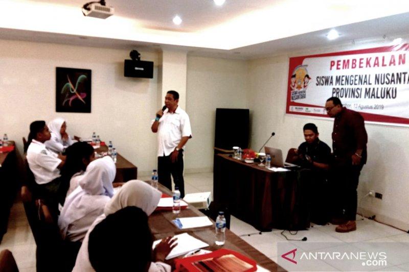23 Peserta SMN Maluku dibekali pelatihan jurnalistik dan vlog