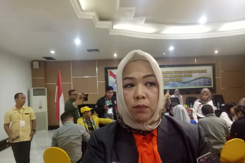 Status komisioner KPU Palembang terpidana pemilu belum jelas