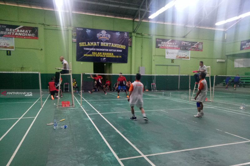 Ratusan pegawai adu kekuatan dalam turnamen olahraga antar BUMN se-Sumsel