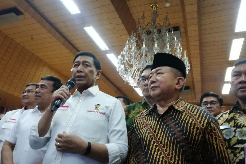 Soal gugatan Kivlan, Wiranto: Tidak benar