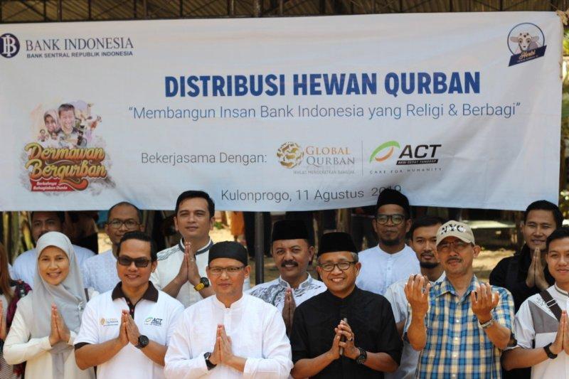 ACT dan BI DIY semarakkan kurban hari pertama di Kulon Progo