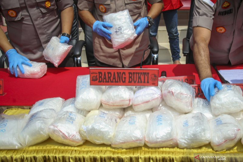 Indonesia-Malaysia kerja sama berantas narkoba