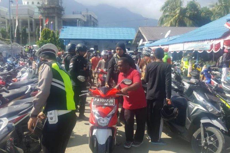 Polres Jayapura gelar patroli dan razia jelang HUT Kemerdekaan RI