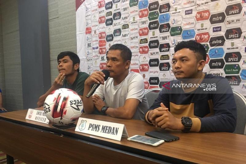 PSMS Medan bertekad pertahankan posisi puncak klasemen