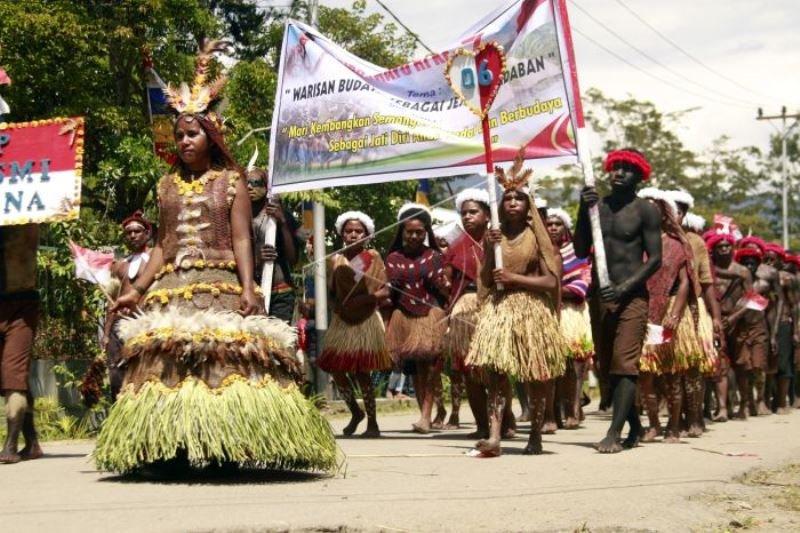 Karnaval budaya Papua