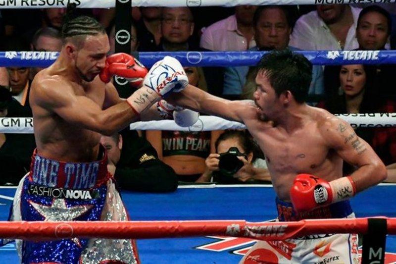 Keith Thurman lontarkan tantangan kepada Manny Pacquiao