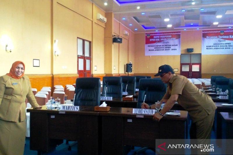 Solok Selatan sebar 3.000 undangan pengambilan sumpah anggota DPRD terpilih