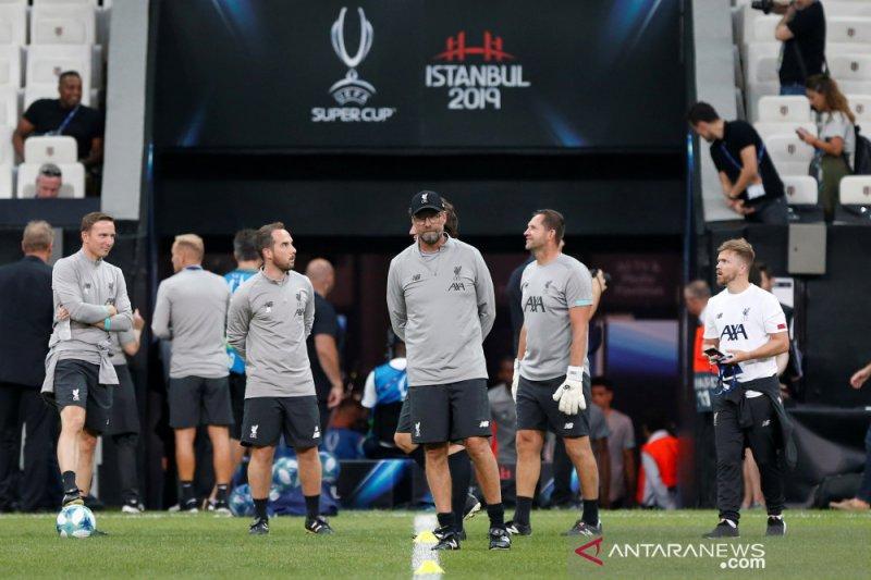 Juergen Klopp tolak anggapan Liverpool favorit juara Piala Super Eropa