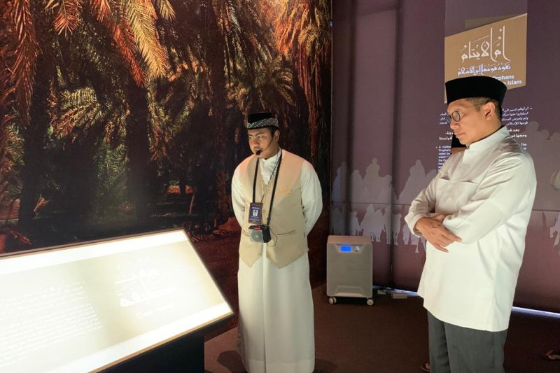 Amirul Hajj kunjungi museum sahabat nabi, salah satu destinasi wisata baru di Mekkah