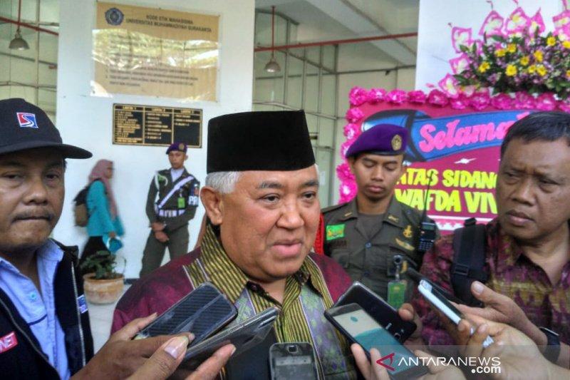 Din Syamsuddin tegaskan tak ada NKRI bersyariah