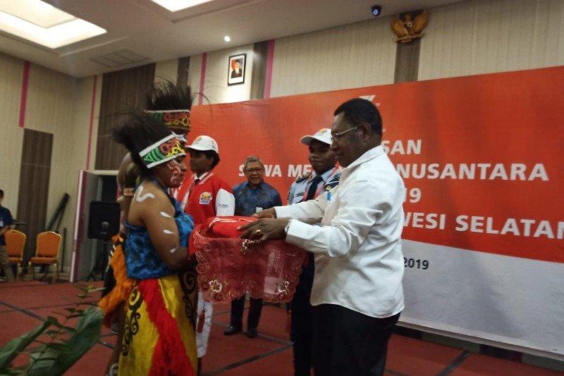 29 peserta SMN 2019 asal Papua segera berangkat ke Makassar