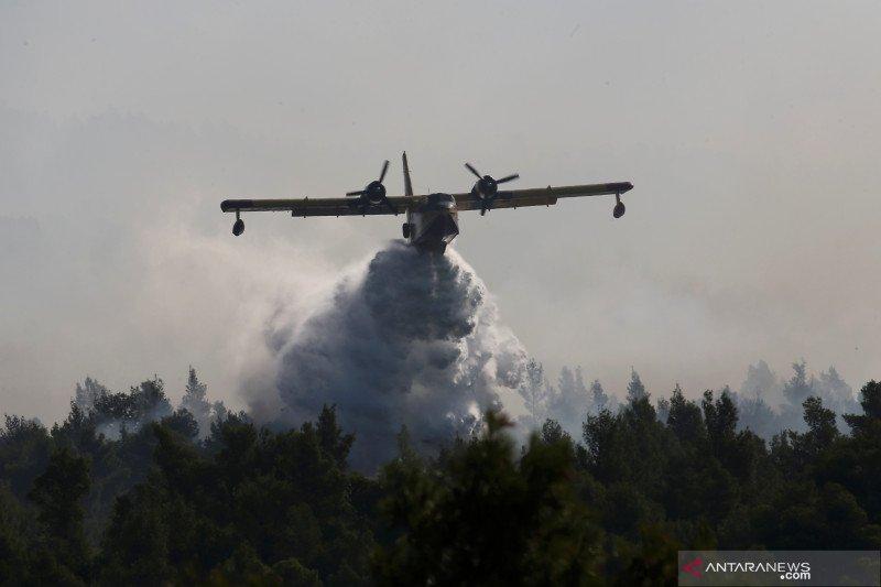 Kebakaran lahan paksa evakuasi dua desa