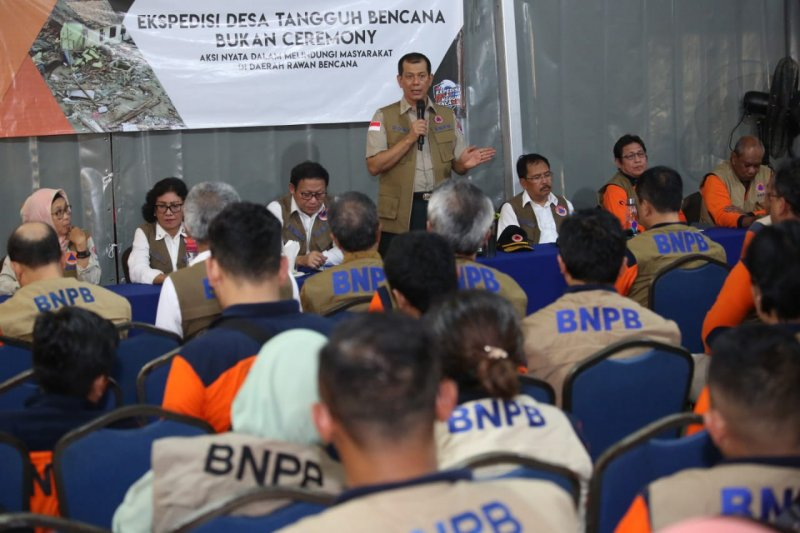 Ekspedisi Destana Tsunami BNPB jangkau 512 desa