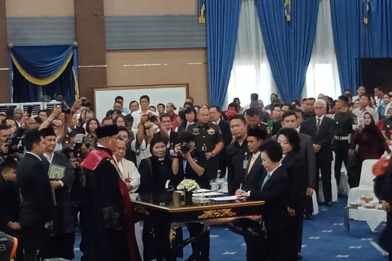 DPRD Manado gelar paripurna pelantikan anggota periode 2019-2024