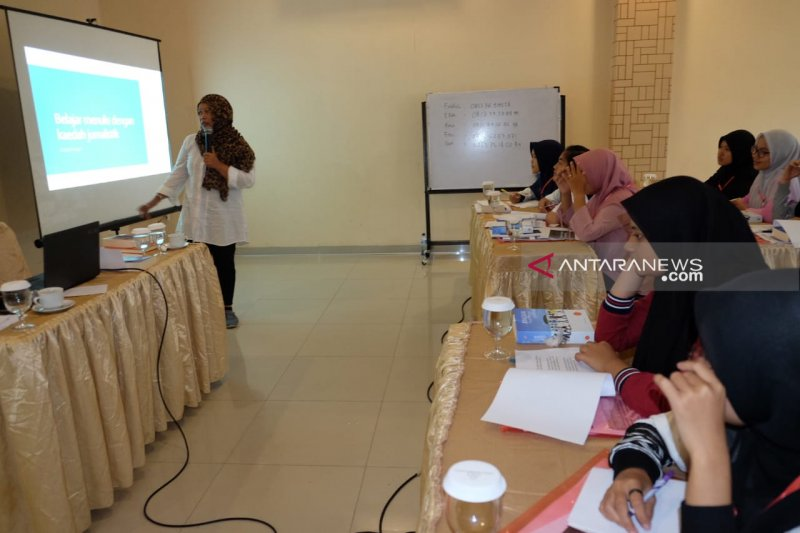PTPN IV bekali siswa SMN 2019 pengetahuan jurnalistik