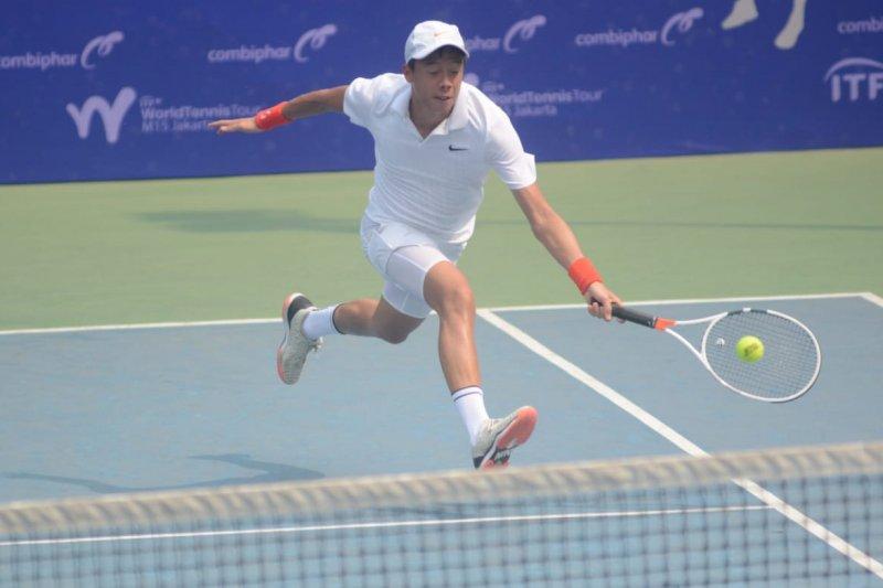 Justin Barki gagal di babak pertama Combiphar Tennis Open