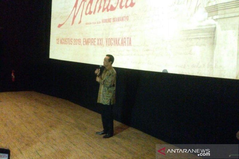 Sultan HB X terkesan dengan kedalaman nilai film Bumi Manusia