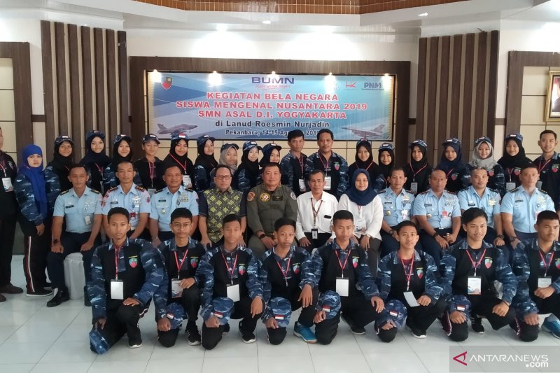 TNI AU latih peserta SMN program bela negara