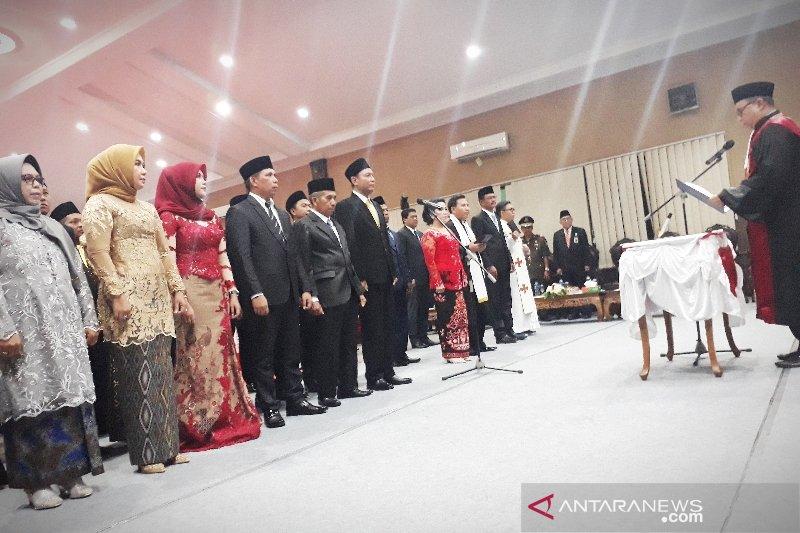 40 anggota DPRD Kotim periode 2019-2024 resmi bertugas