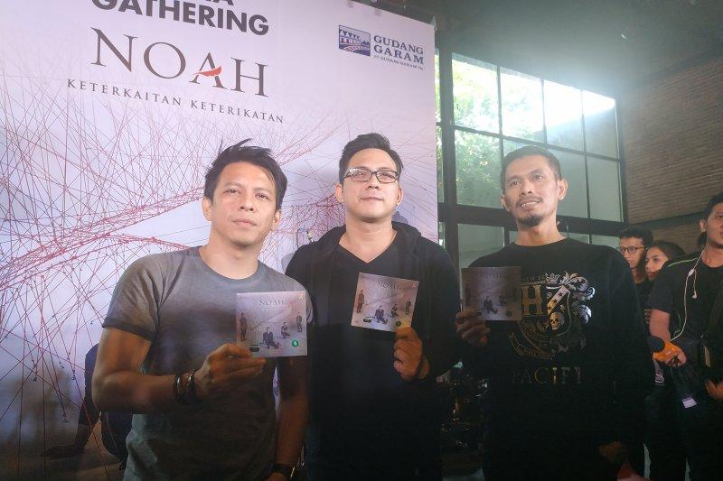 Noah Rilis Album Baru Keterkaitan Keterikatan Berisi 9 Lagu