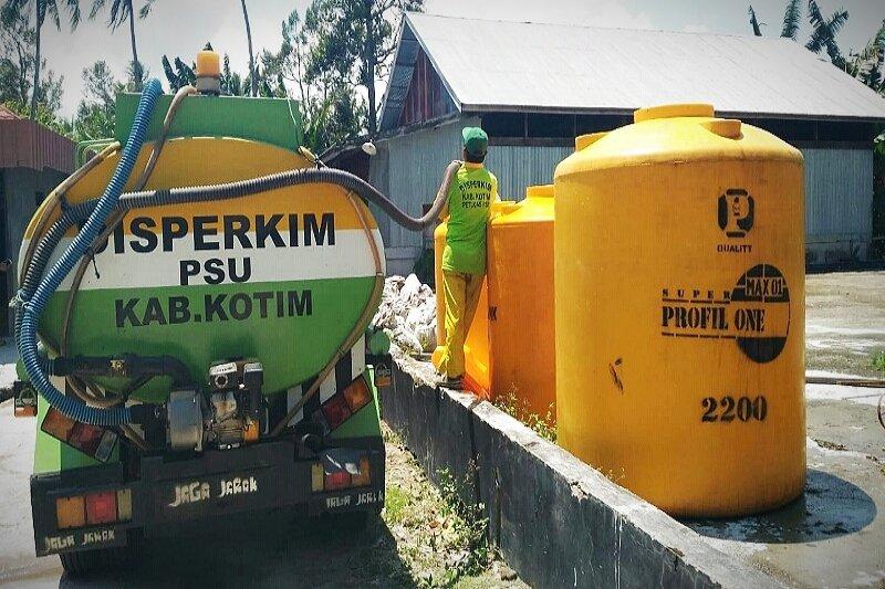 Pemkab Kotim siap pasok air bersih ke kawasan pesisir