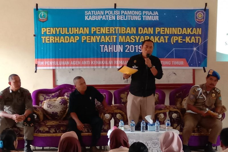 Belitung Timur mampu turunkan angka kenakalan remaja