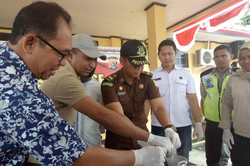 Kasus narkoba di Mimika naik signifikan selama 2019