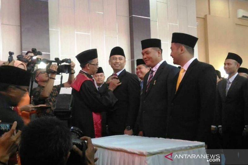 DPRD Solok Selatan periode 2014-2019 bentuk 43 Perda
