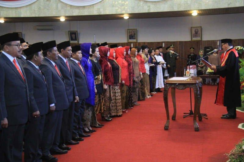 Wajah lama dominasi DPRD Kota Semarang 2019-2014