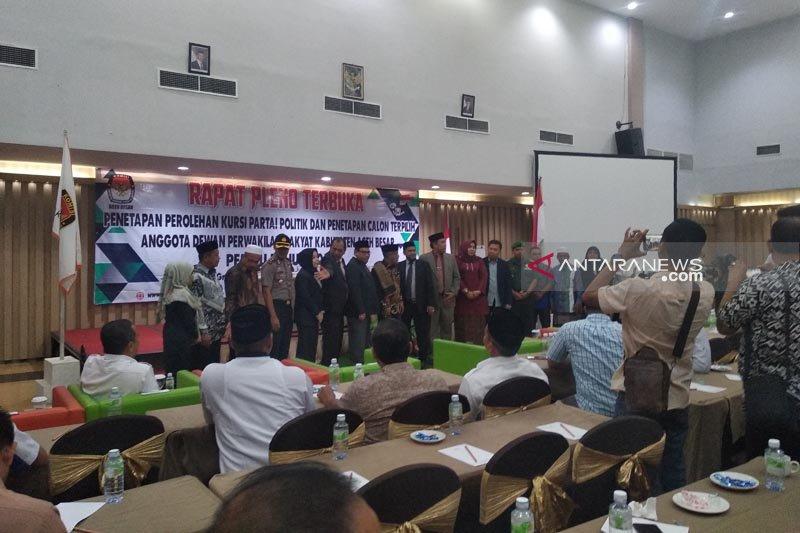 KIP tetapkan 35 anggota DPRK Aceh Besar terpilih