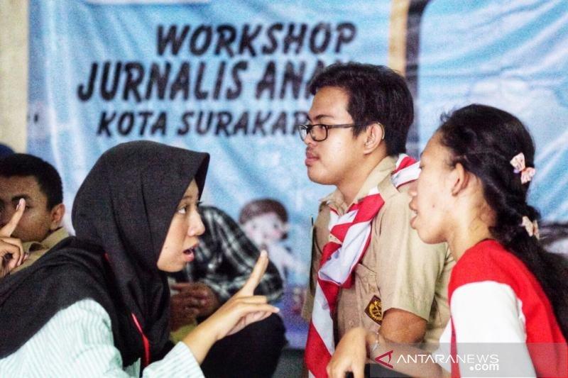 Sahabat kapas Solo gelar workshop jurnalis anak
