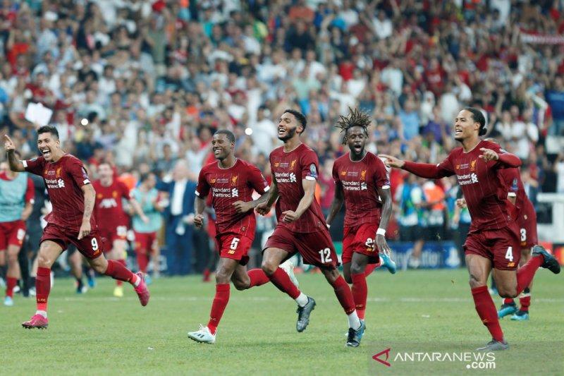 Liverpool samai rekor Real Madrid di Piala Super Eropa