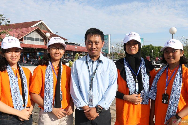 Peserta SMN 2019 menambah wawasan kebangsaan di Kodim Bolaang Mongondouw