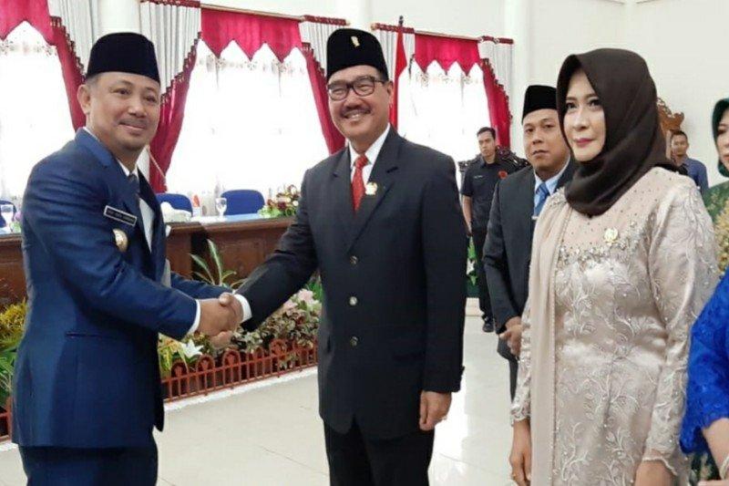Farid Yusran jabat Ketua Sementara DPRD Barsel periode 2019-2024