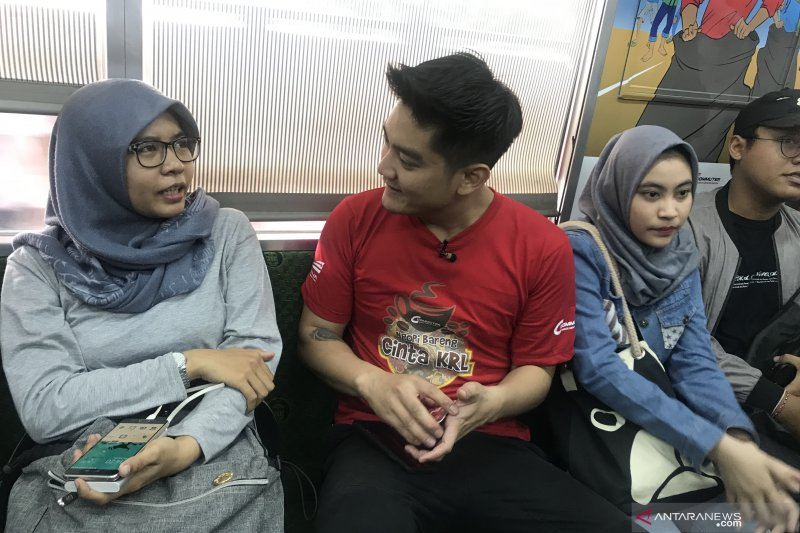 KCI gandeng Boy William ajak masyarakat naik KRL