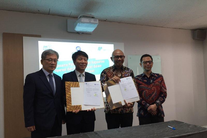 Tingkatkan teknologi transportasi, MRT Jakarta belajar dari Korea