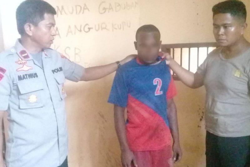 Polisi tangkap terduga pencuri kabel instalasi sekolah