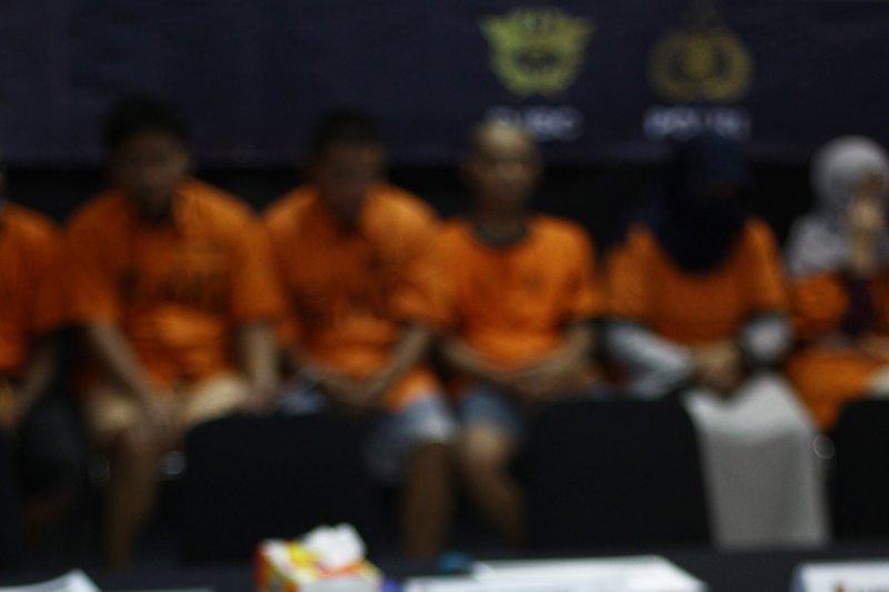 Tiga terdakwa narkoba Bengkalis dituntut mati