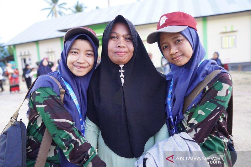 Peserta SMN Jatim tinggal di rumah warga di Gorontalo