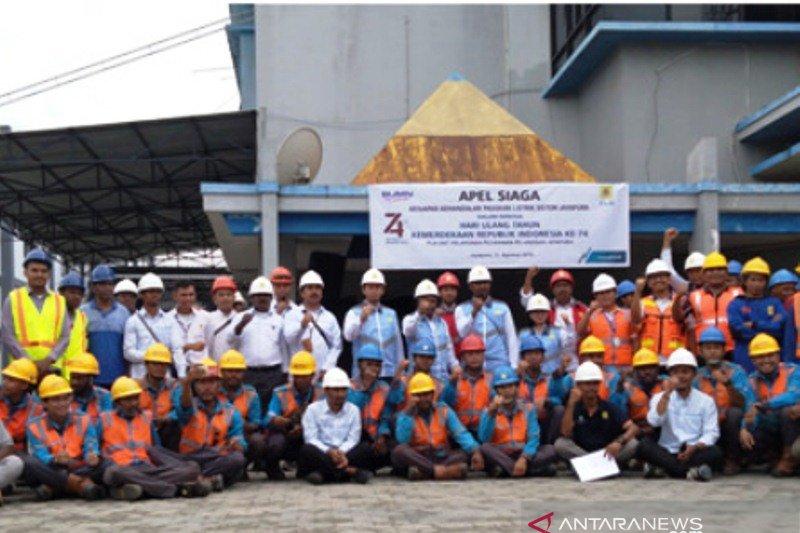 PLN UP3 Jayapura gelar apel siaga jelang HUT RI