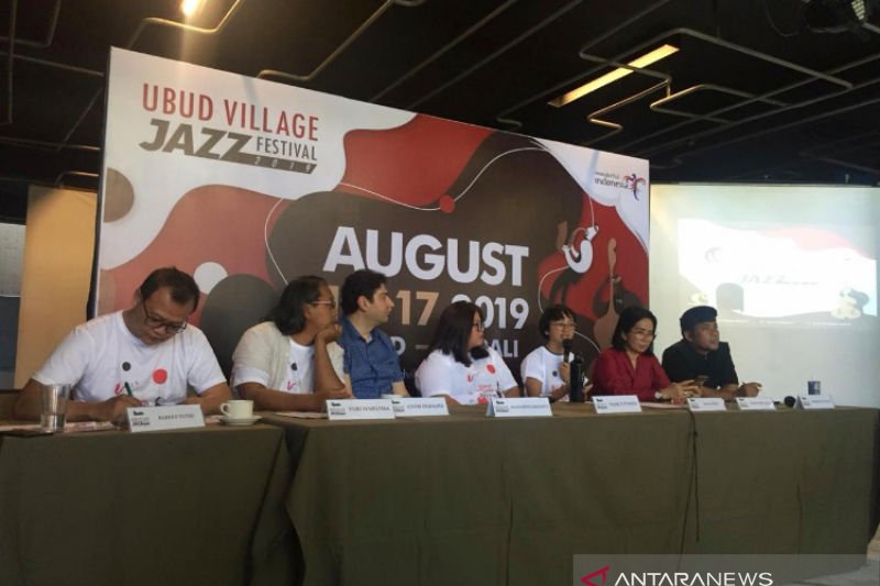 Musikus dari sembilan negara akan meriahkan Ubud Village Jazz Festival