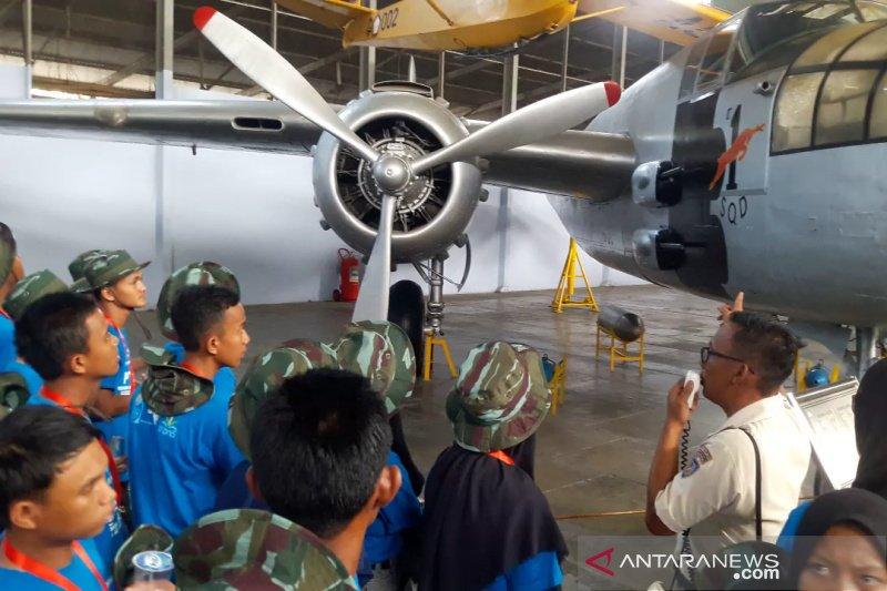 SMN 2019 - Peserta SMN Riau kunjungi Museum Dirgantara Yogyakarta