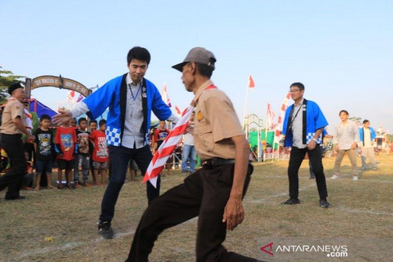 Warga Jepang meriahkan Jambore Pramuka di Batang