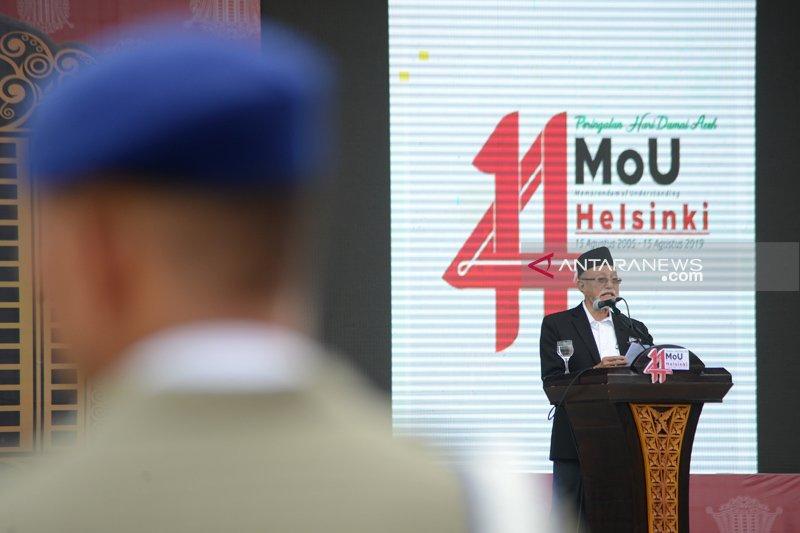 Wali Nanggroe harapkan perdamaian Aceh terus berlanjut